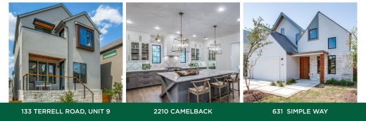 3 new homes in Alamo Heights