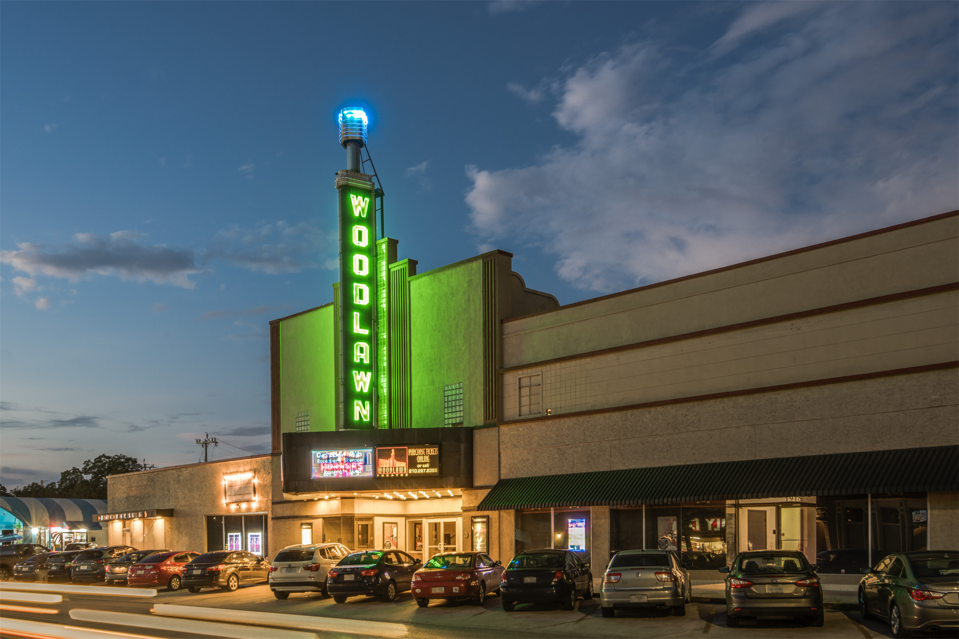 Woodlawn Theatre building at 1924 Fredericksburg San Antonio, Texas 78201 United States